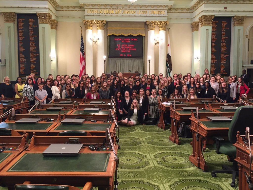 2016 Day at the Capitol, May 2, in the State Assembly