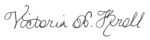 Victoria Kroll Signature